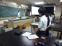体験授業(物理)