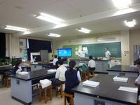 体験授業(生物)