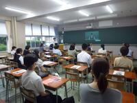 在校生による理数科紹介